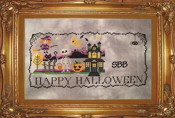 Tiny Modernist Inc.  Halloween Stitch A Long ~ Part 2