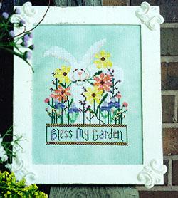 Val's Stitchin' Stuff Bless My Garden