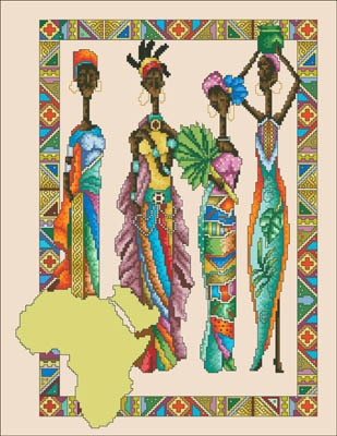 Vickery Collection African Queens
