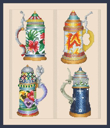 Vickery Collection Beer Stein Seasons