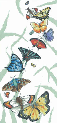 Vickery Collection Butterfly Parade