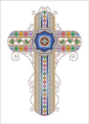 Vickery Collection Byzantine Cross