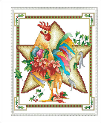 Vickery Collection December Rooster