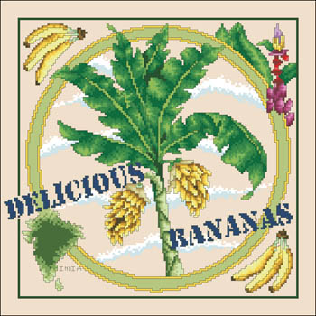 Vickery Collection Delicious Bananas