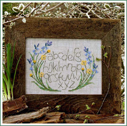Victoria Sampler Designs by Cathy Jean CJVS05 Buttercup Alphabet