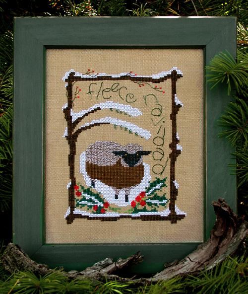 Victoria Sampler Designs by Cathy Jean CJVS08 Fleece Navidad