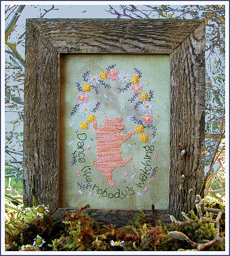 Victoria Sampler Designs by Cathy Jean CJVS11 Dancing Free