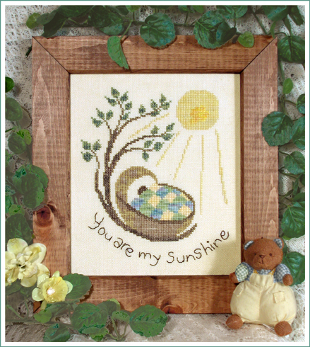 Victoria Sampler Designs by Cathy Jean CJVS19 My Sunshine