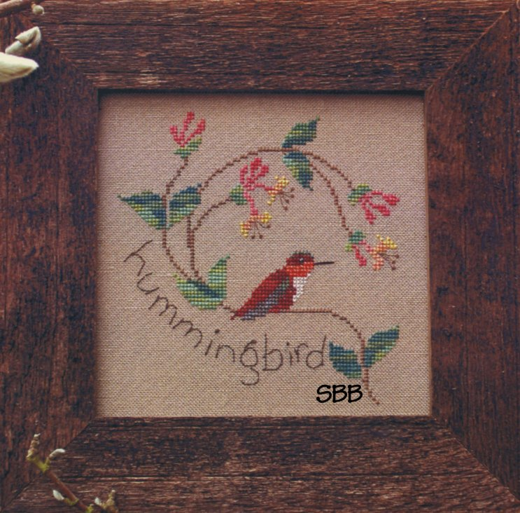 Victoria Sampler Designs by Cathy Jean CJVS21 Hummingbird