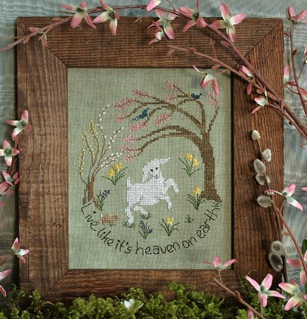 Victoria Sampler Designs by Cathy Jean CJVS28 Living Free
