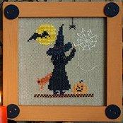 Victoria Sampler Designs by Cathy Jean CJVS31 Stitch Witch