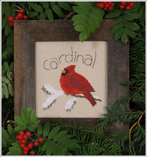Victoria Sampler Designs by Cathy Jean CJVS33 Cardinal