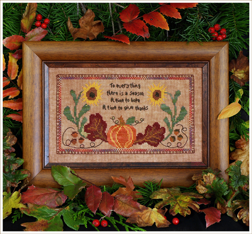 Victoria Sampler Designs by Cathy Jean CJVS47 A Time For Thanks