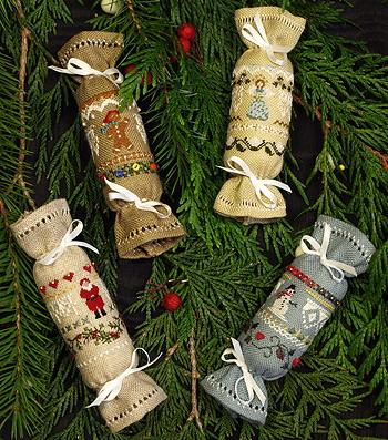 Victoria Sampler's Beautiful Finishing Series F08 Christmas Crackers