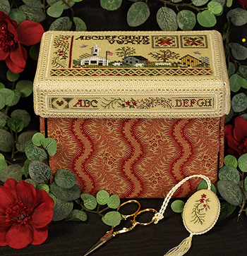 Victoria Sampler's Beautiful Finishing Series F10 Sturbridge Box