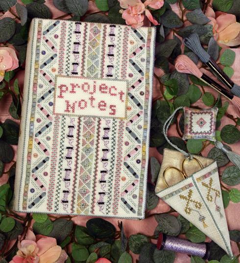 Victoria Sampler Designs By LindaLR08 Project Notebook