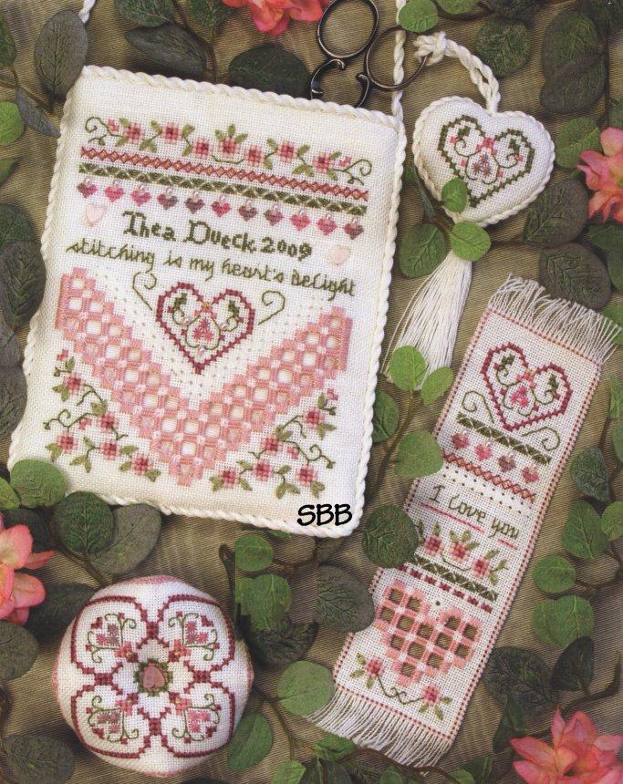 Victoria Sampler105 Heart's Delight
