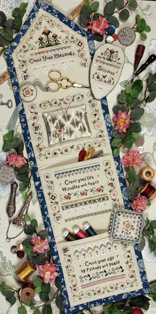 Victoria Sampler122 Count Your Blessings Etui