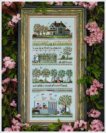 Victoria Sampler134 Oldfield Orchard Small Farm Sampler
