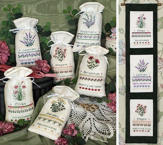 Victoria Sampler138 Herbal Sachets
