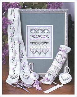 Victoria Sampler14 Lilac Chatelaine