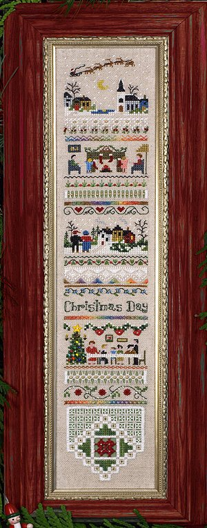 Victoria Sampler174 Christmas Day Sampler