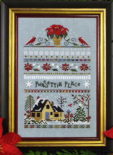 Victoria Sampler175 Poinsettia Place Sampler