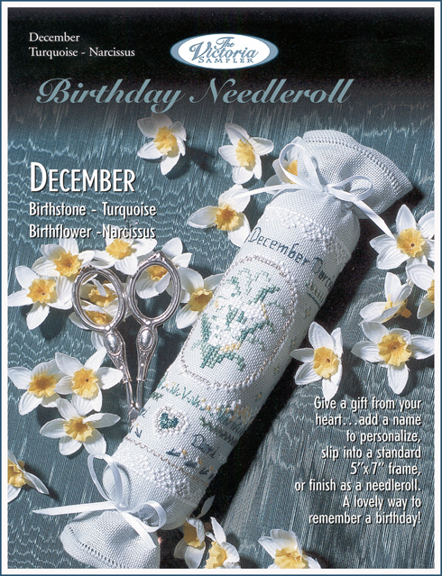 Victoria Sampler187 Birthday Needleroll December