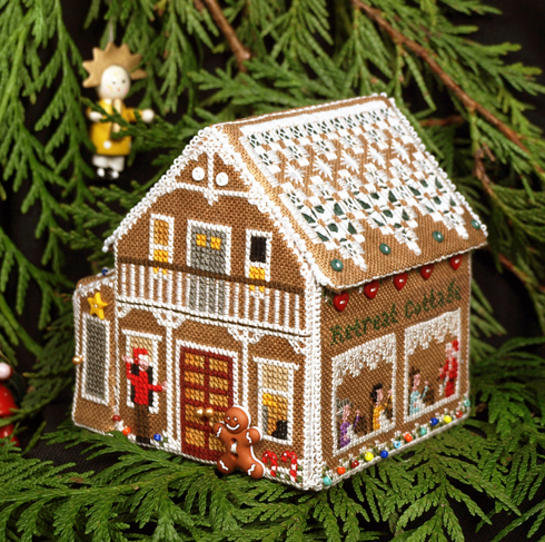 Victoria Sampler188 Gingerbread Retreat Cottage
