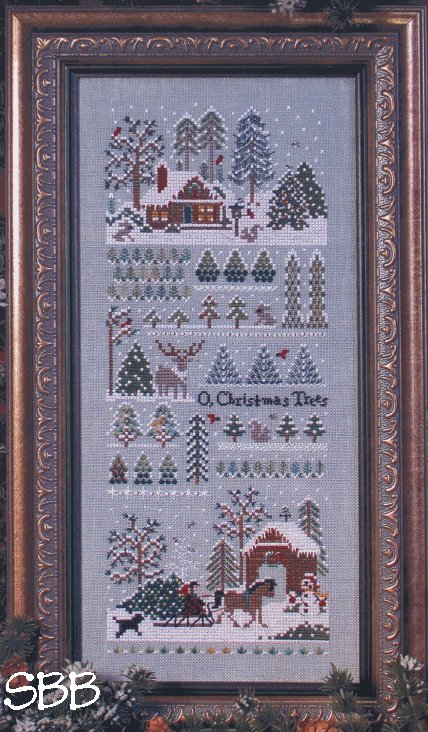 Victoria Sampler61 Jingle Bells Christmas Tree Farm