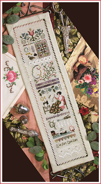 Victoria Sampler85 Q Is For Quilter