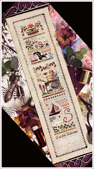 Victoria Sampler91 S Is For Stitcher