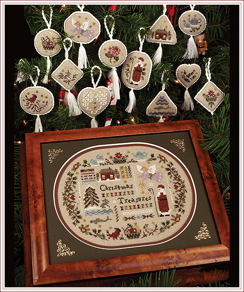 Victoria Sampler98 Christmas Treasures Collection