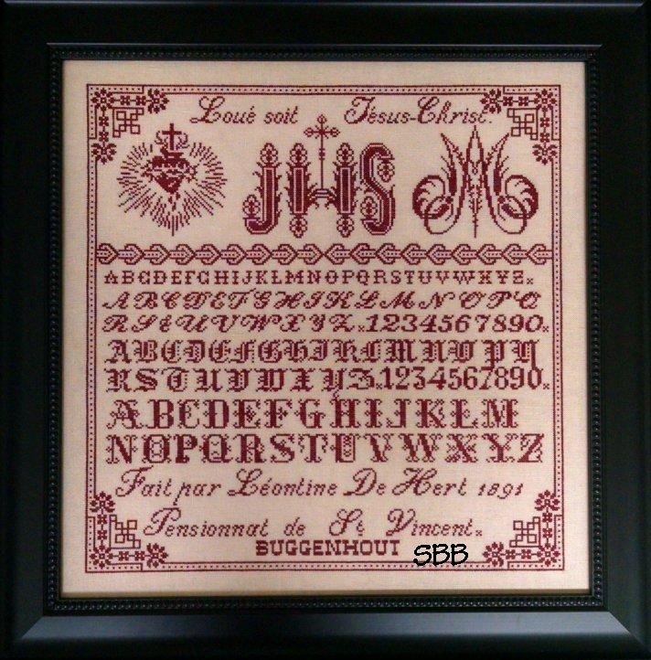 Victorian Rose Needlearts Leontine De Hert 1891