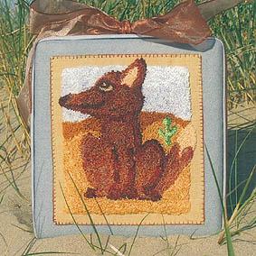 The Workbasket Desert Fox Punchneedle