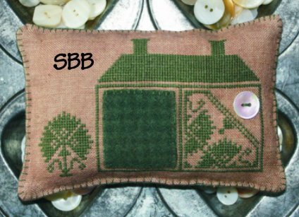 The Workbasket Limited Edition Buttons & Wool ~ Green Kit