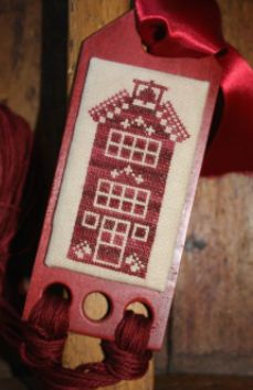 The Workbasket Limited Edition  Quaker Skinnies Kit in Red