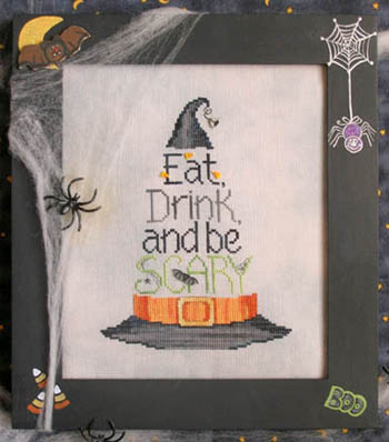 Waxing Moon Designs Eat, Drink & Be Scary