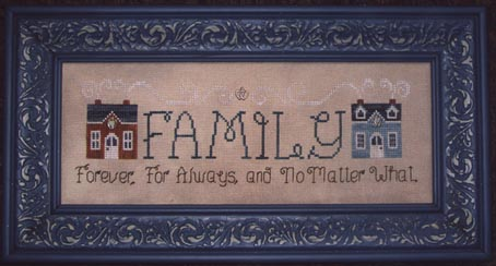 Waxing Moon Designs Family Forever