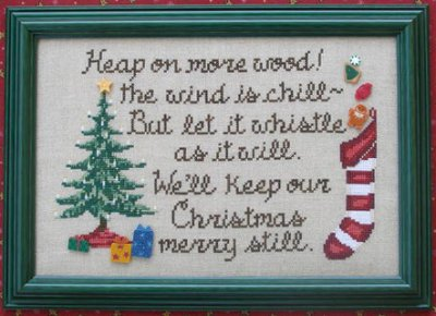 Waxing Moon Designs Keep Christmas Merry