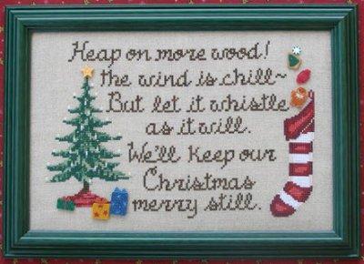Waxing Moon Designs Keep Christmas Merry
