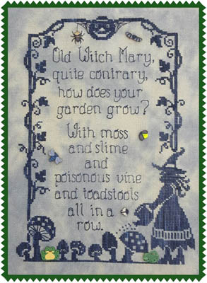 Waxing Moon Designs Old Witch Mary