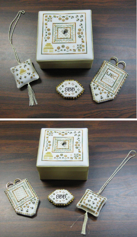 Wendy KC Designs Closeout Bee's Garden Stitching Accessories
