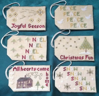 Wendy KC Designs Closeout Christmas Tags