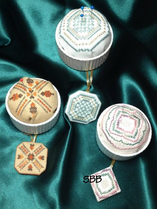 Wendy KC Designs Closeout Pudding Pincushions Plus