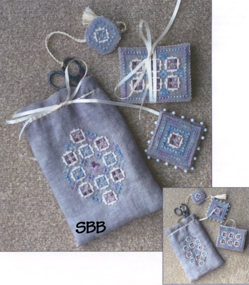 Wendy KC Designs Closeout Spring Haze Sachet & Stitching Accessories