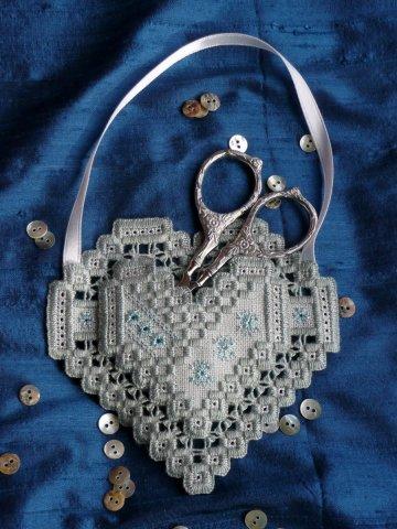 Wendy KC Designs CloseoutWinter Heart Pocket