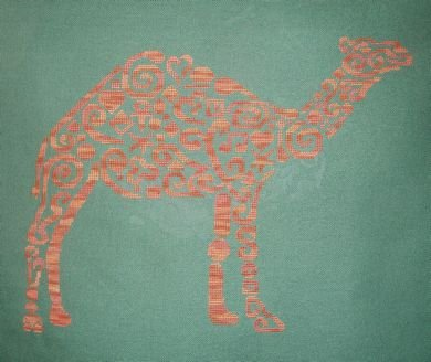 White Willow Stitching Tribal Camel