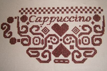 White Willow Stitching Tribal Cappuccino