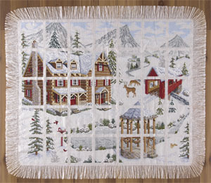 Wichelt Imports Mountain Retreat Afghan